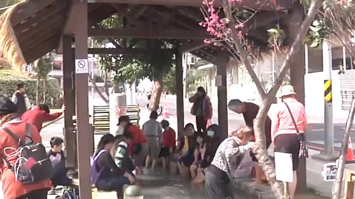 打造桃園溫泉一條街 羅浮溫泉公園啟用