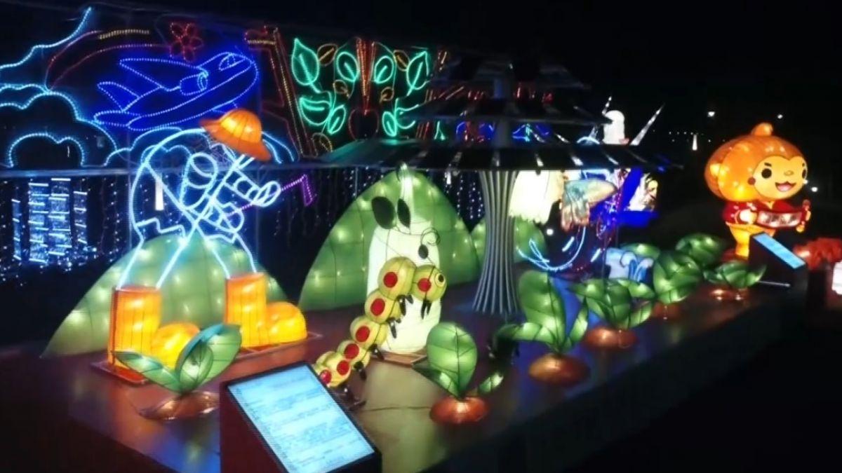 2018台灣燈會就在嘉義縣 科技結合光影