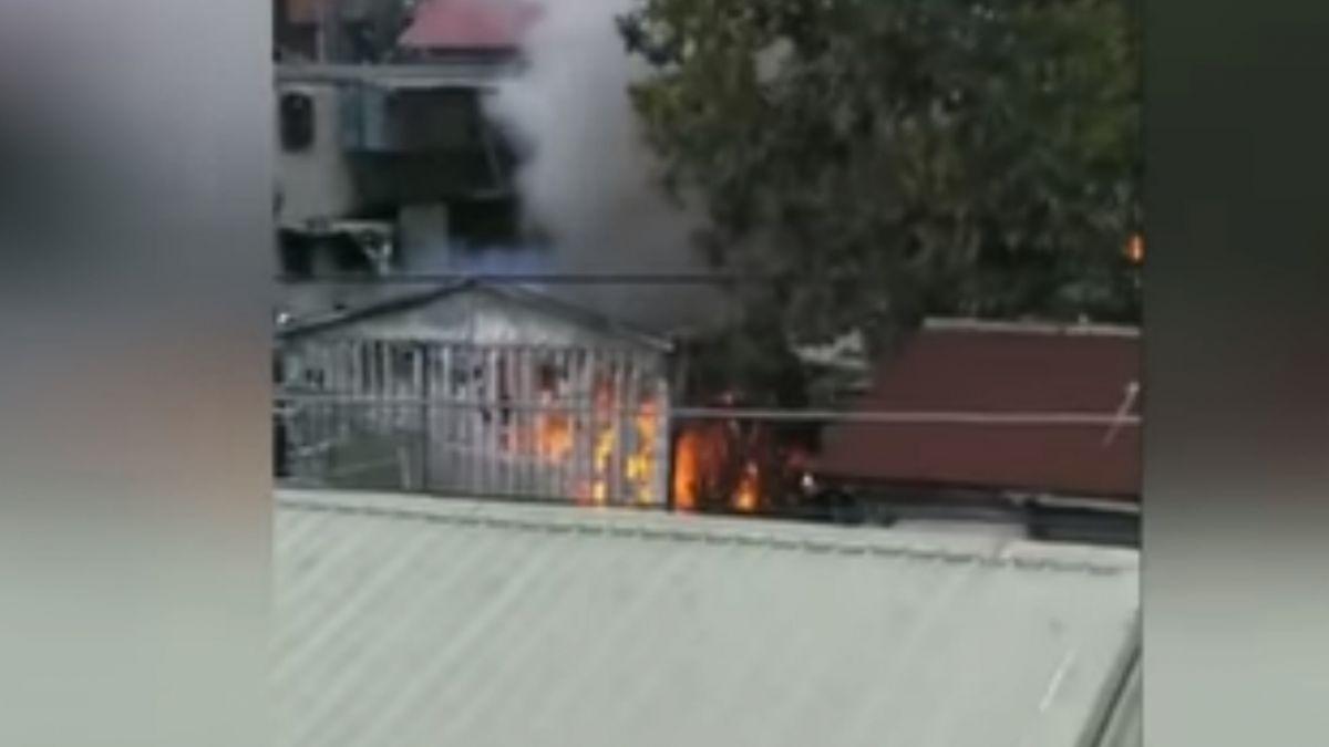 北市眷村興隆山莊火警 疏散五住戶共八人