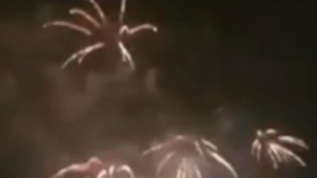 台灣燈會煙火落焰釀火警 明後兩場不放了