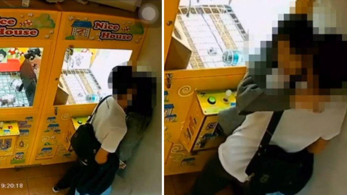 情侶娃娃機店「活雞生吃」1分鐘 網友笑翻:找零錢啦!