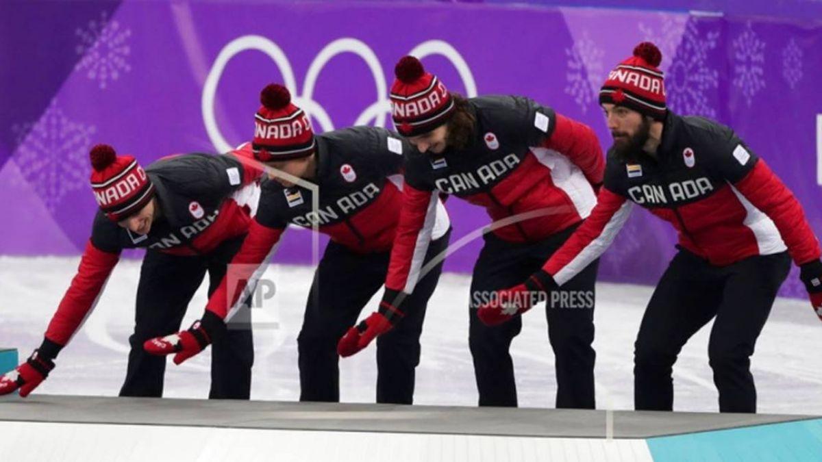 韓國隊絆倒對手奪冠…加拿大隊台前「掃地」 嘲諷