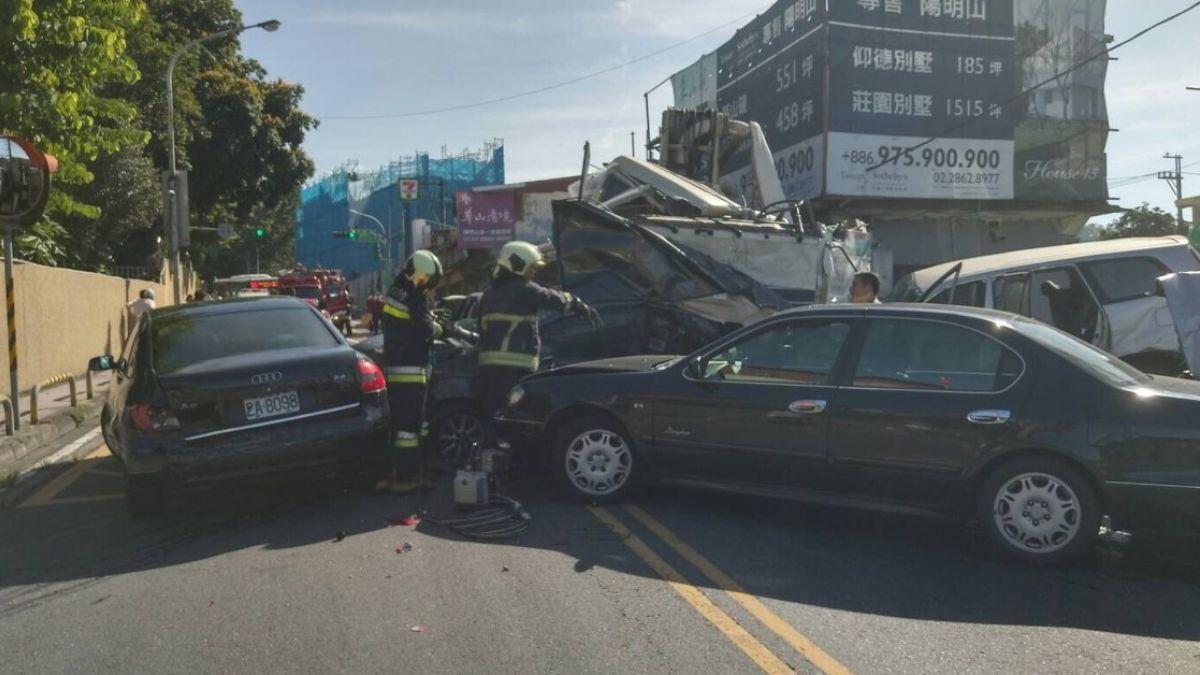 手煞車被拆、超重上路!陽明山水泥車壓送車釀4死 老闆遭起訴