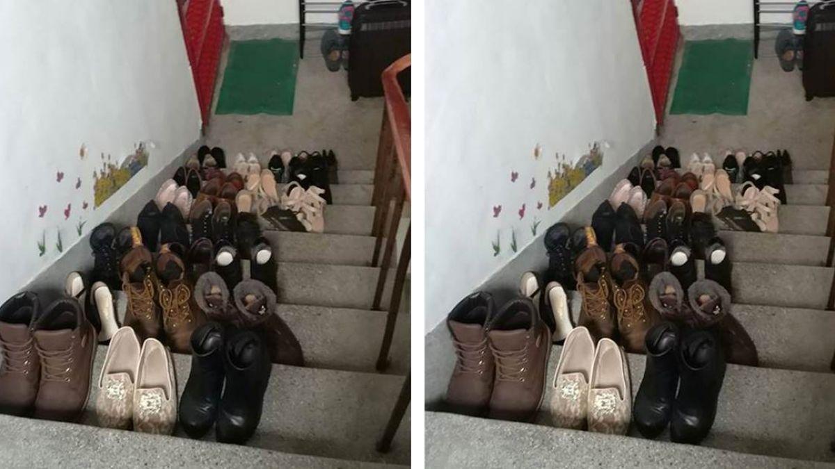 鄰居是蜈蚣女!30雙鞋堆滿樓梯無法通行 他超崩潰