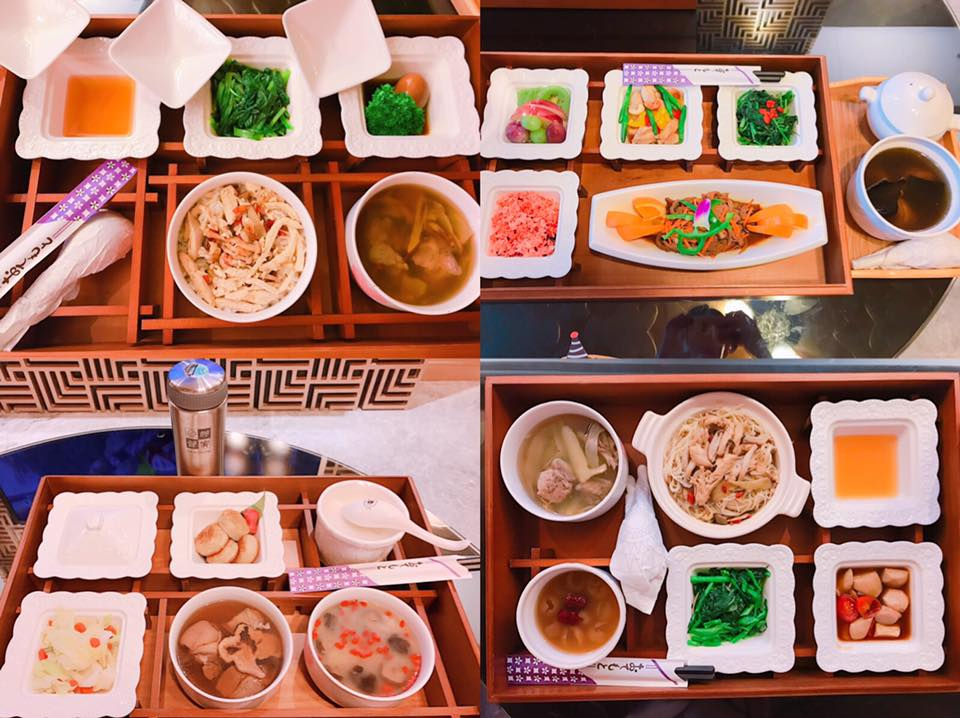 馮媛甄在安馨產後護理之家月子餐點