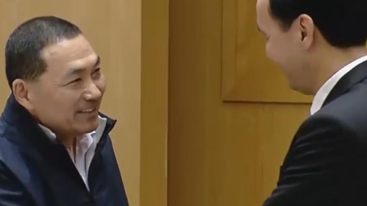 辭副市長參選 侯友宜笑「謝謝市長讓我失業」