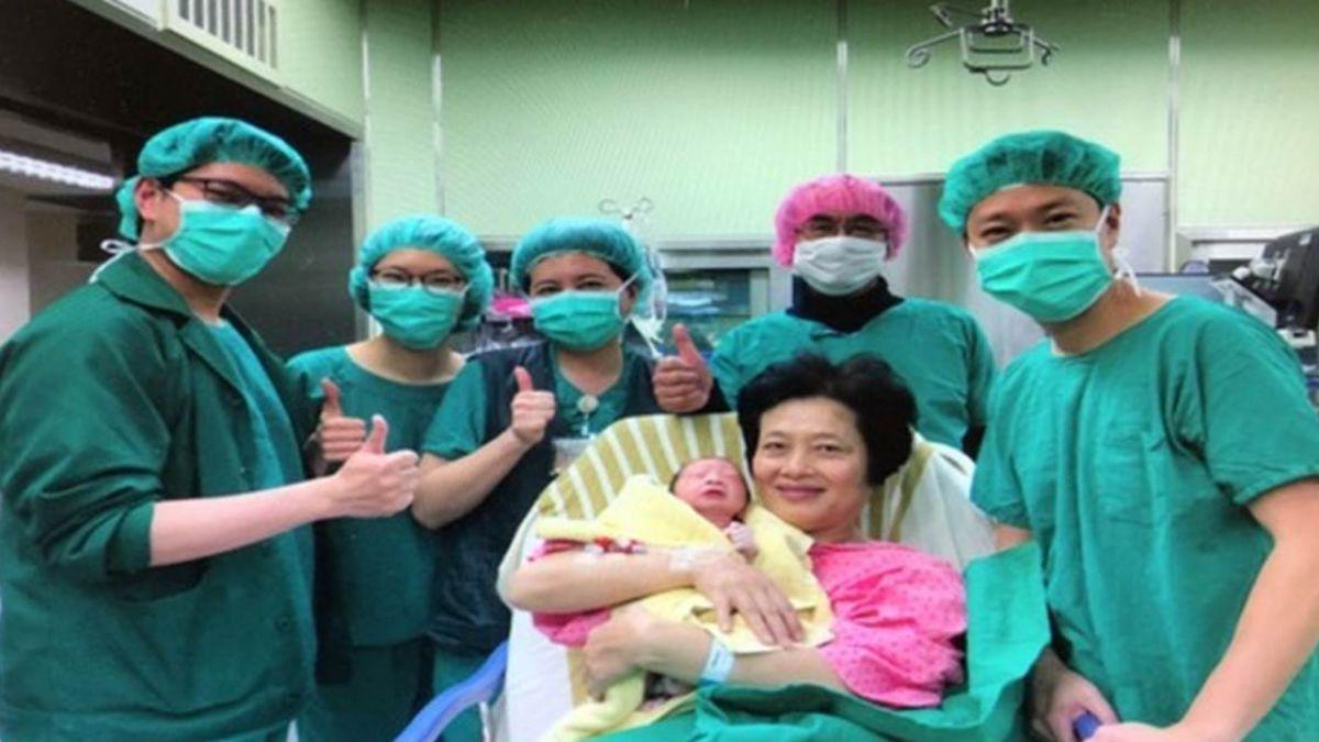 超高齡產婦!62歲婦1小時自然產 2孩子生日同一天「差3輪」