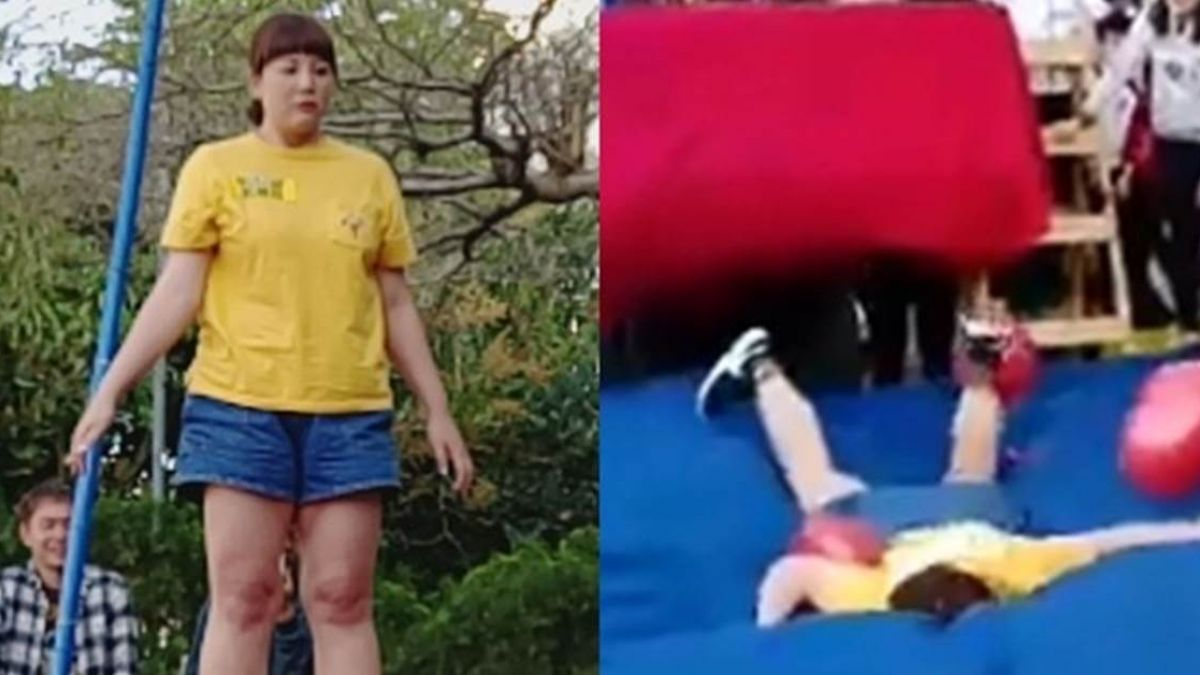 【影片】胡瓜《大集合》驚爆事故! 女星跳下高台送醫急救