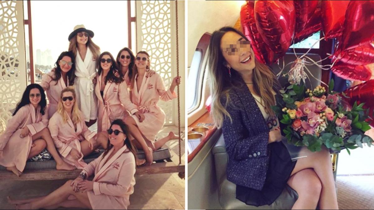 富商女約7姐妹開趴 回程墜機全亡!打卡美照慘變最後合照