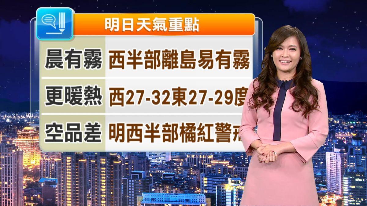 【2018/03/13】今春陽燦爛 溫度很暖熱 最高台北27.7度