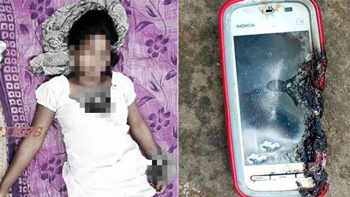 18歲女邊講電話邊充電 手機炸傷手胸腿…搶救無效慘死