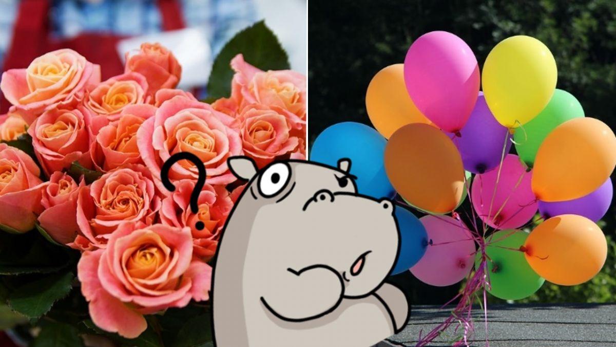 請隔壁老闆代收花束 他卻只在乎氣球!超展開對話網笑翻