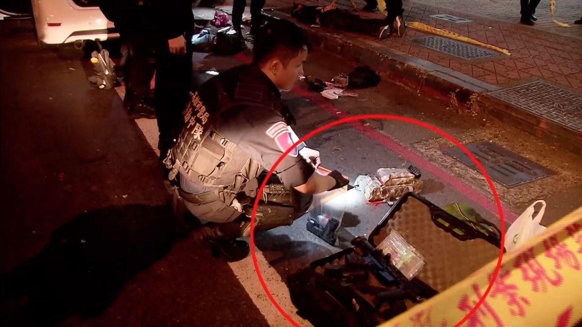「行動軍火庫」拿槍指特勤 警開22槍擊斃一匪