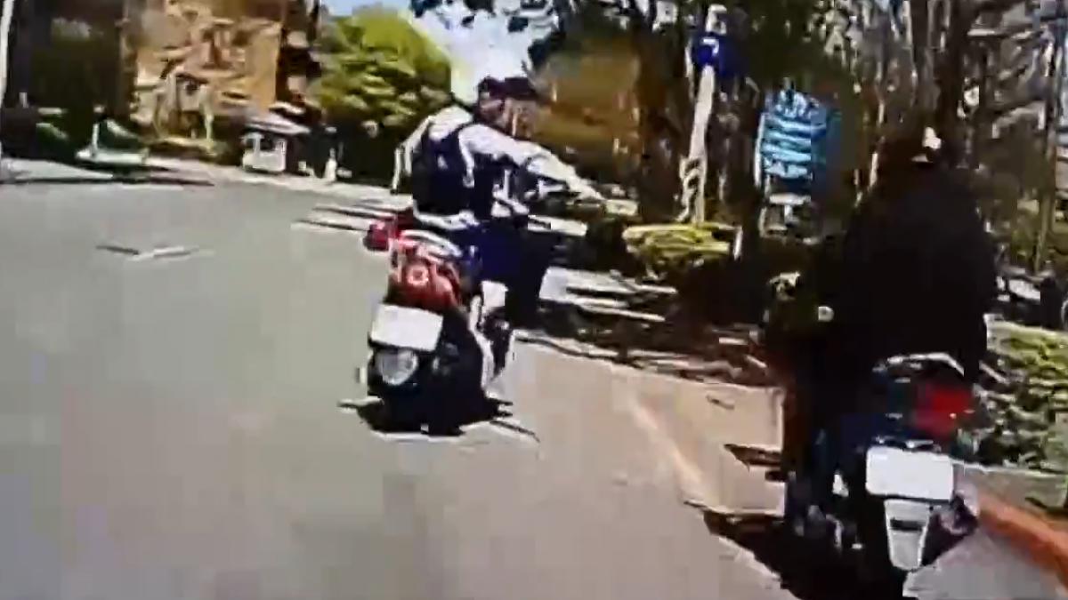 男子騎贓車趴趴走 心虛舉動惹警注意