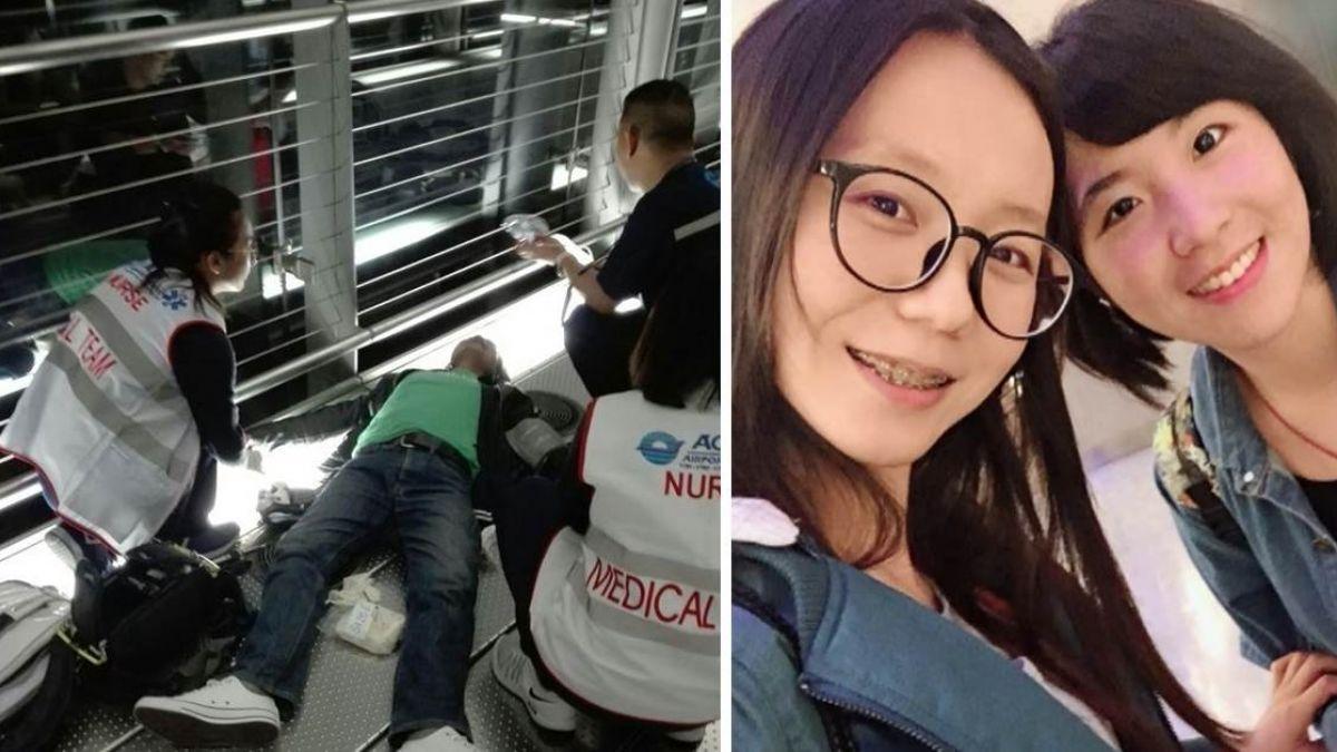 白衣天使降臨泰國!旅遊遇暈倒男…2護理師齊心搶命:只是天職