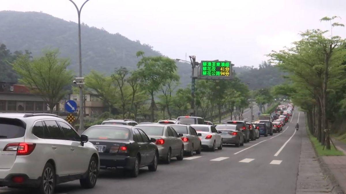 連假首日紫爆!國道一早釀9事故 這些路段超塞