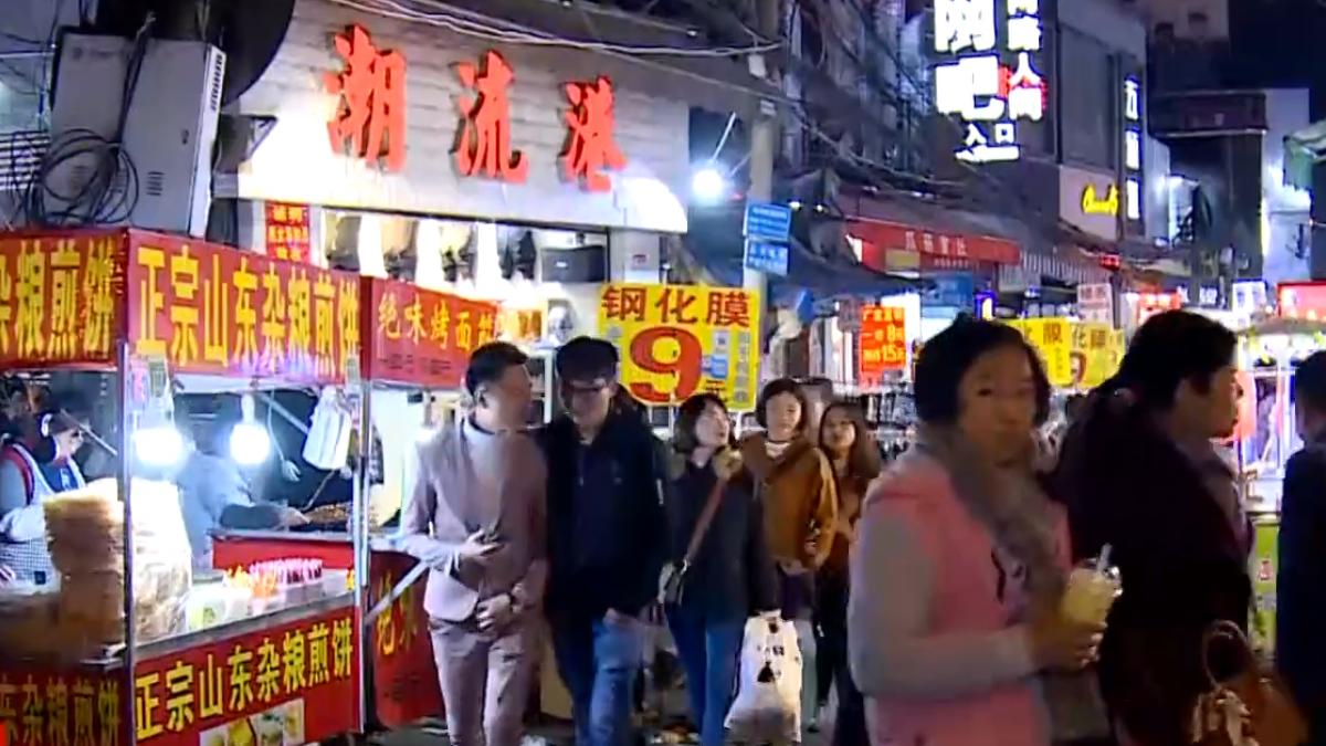 福州人愛吃甜 逛夜市「芋泥攤」最對味