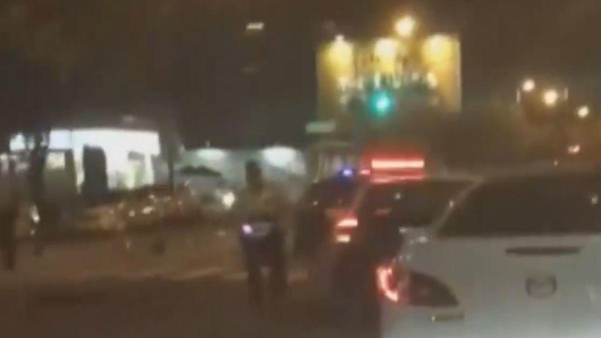 酒駕闖紅燈撞2機車釀4傷 外籍生幸僅輕傷