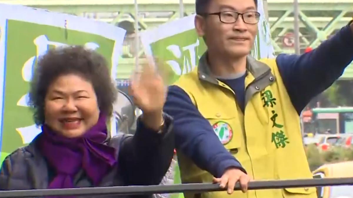 民進黨北市議員初選激烈 花媽北上親站台