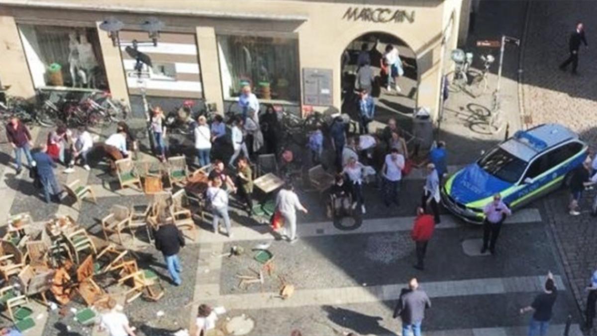 德國爆廂型車衝撞人群!釀3死逾20傷 駕駛自轟亡
