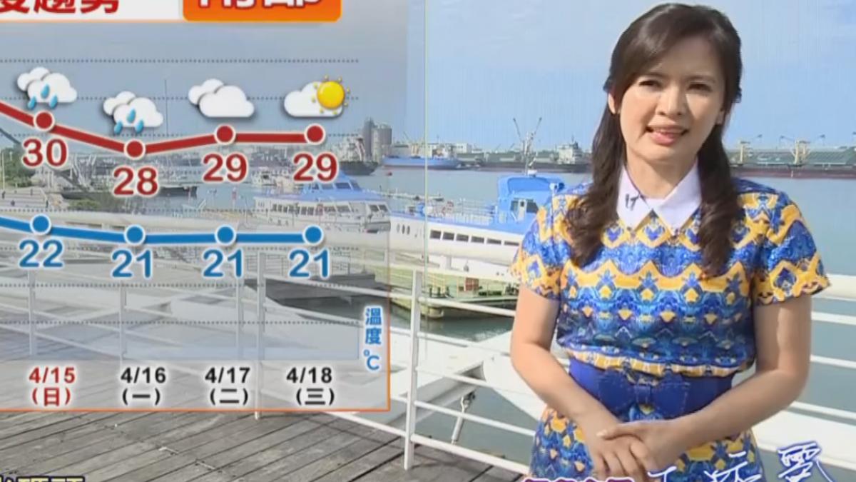 【2018/04/12】大家起床囉! 淑麗高雄新光碼頭報氣象