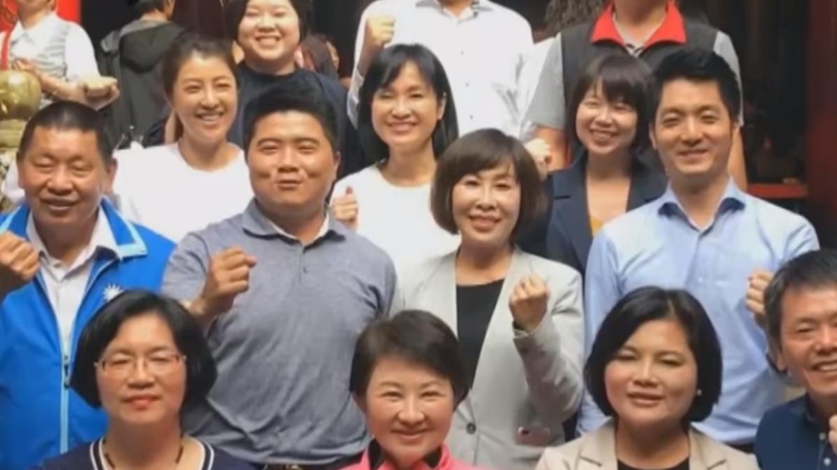 立委組「輔選列車」 蔣萬安、許淑華俊男美女牌