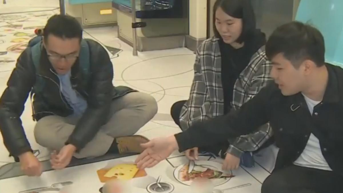 3D漫畫北捷車廂超逼真!眼睛「嚐」世界美食