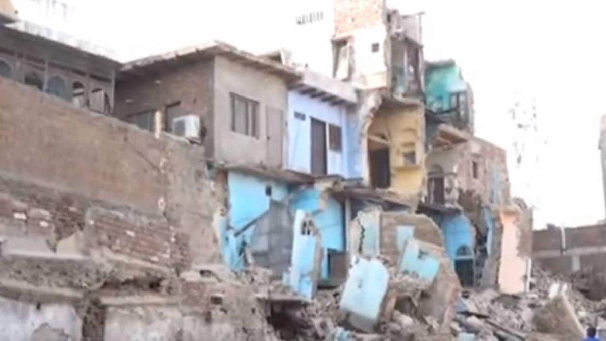 【影片】上千隻老鼠咬爛地基!3層樓建築秒崩塌成廢墟