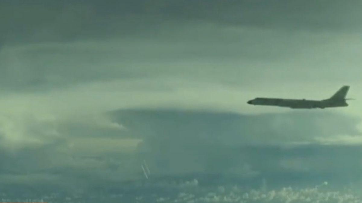 轟-6K戰機頻繞台 大陸空軍「台語宣傳片」上陣