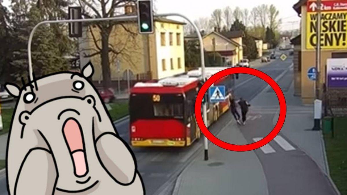 與死神擦肩!少女被推後仰跌倒 公車疾駛險爆頭