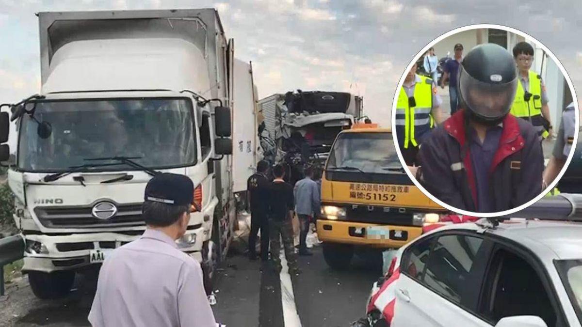 國道3死車禍!肇事司機「連上22天班」過勞 業者遭重罰300萬