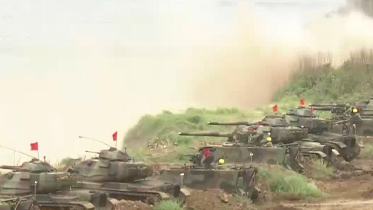 漢光34反制解放軍嚇台 國軍:帶著敵情練兵
