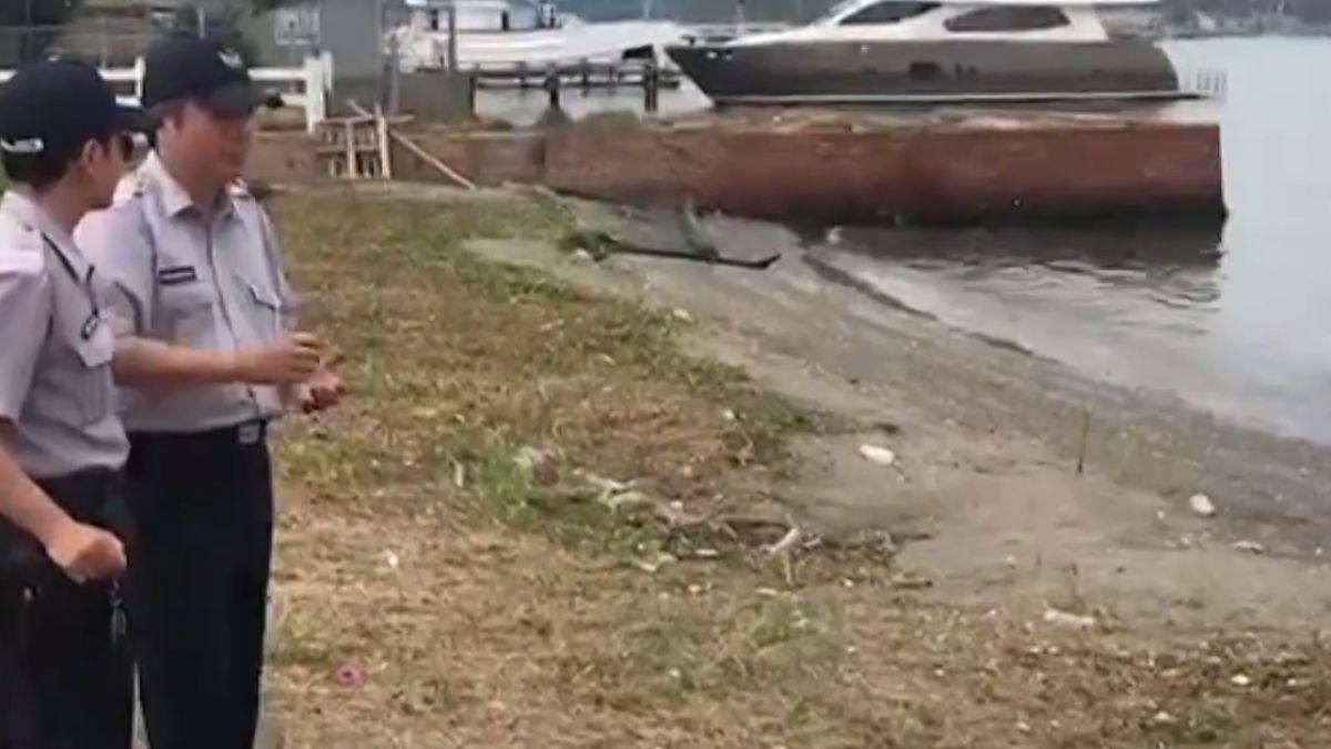 生前落水?死後丟棄? 剛出生女嬰屍飄安平運河
