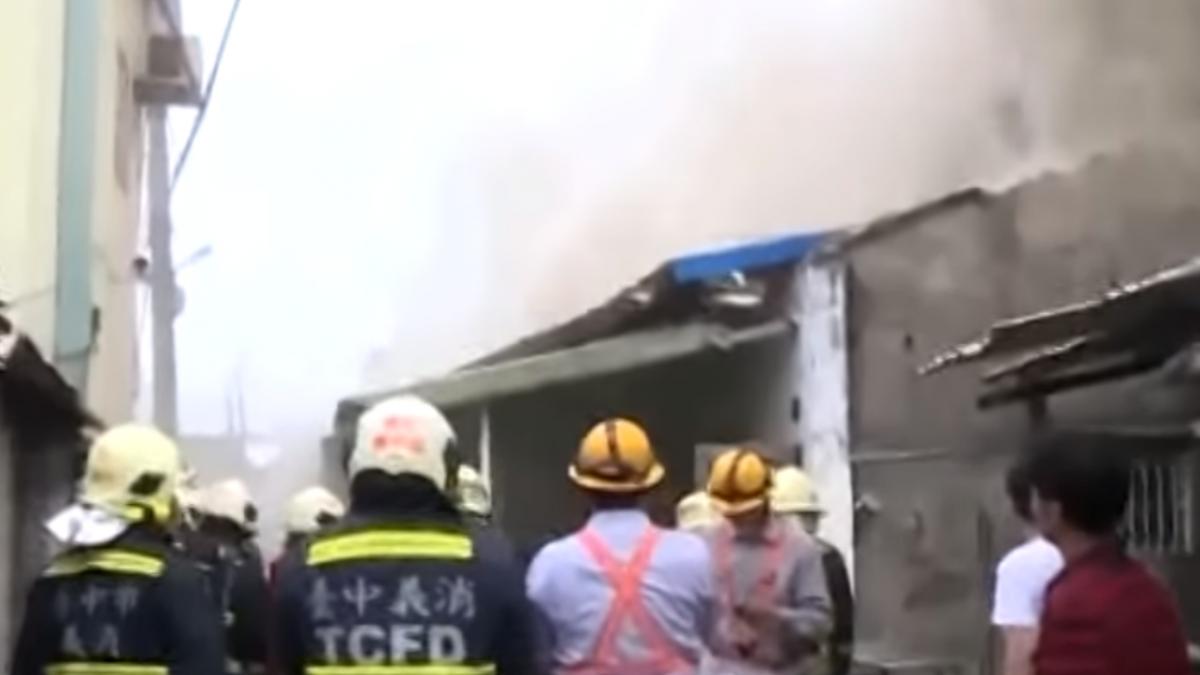 民宅氣爆火警 1名女移工50%二度燒燙傷