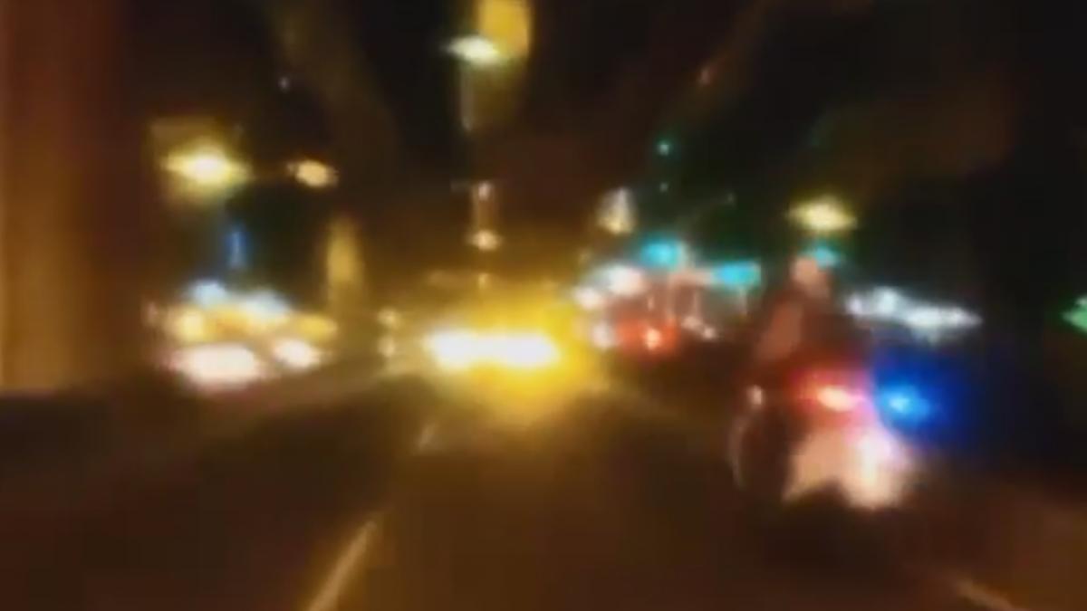 鬧區警匪追逐逾2公里 警遭撞負傷逮毒犯