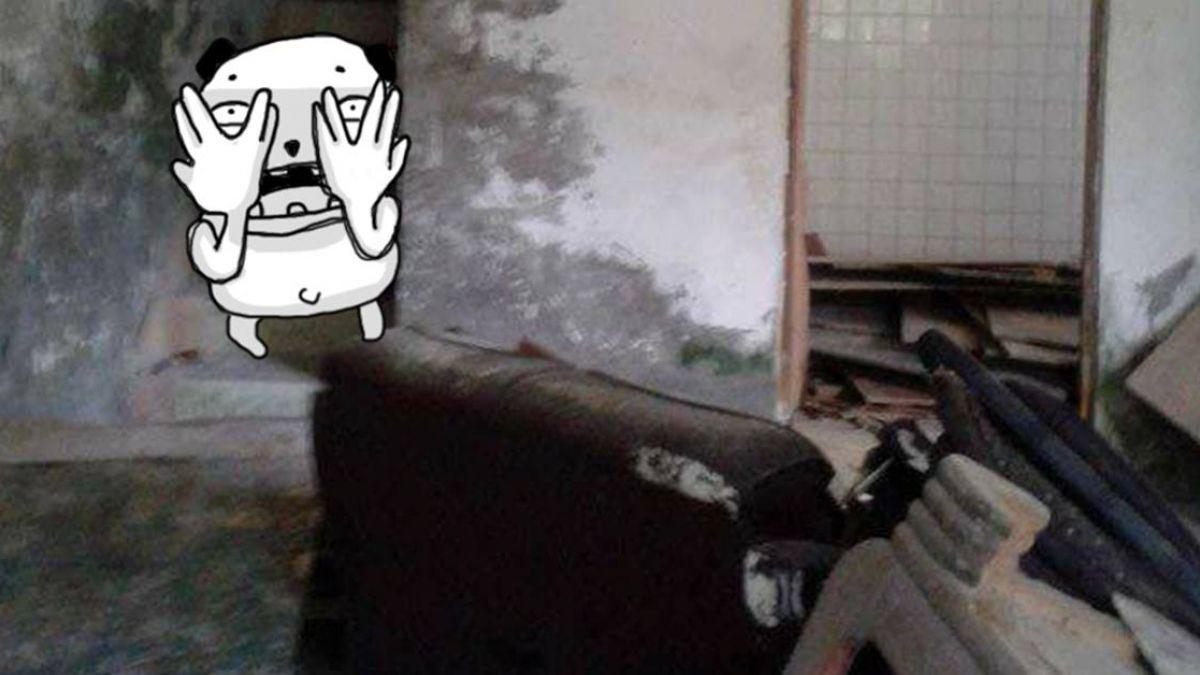 山區廢棄屋!驚見一男一女 網友發毛喊:最凶的在樓梯上…