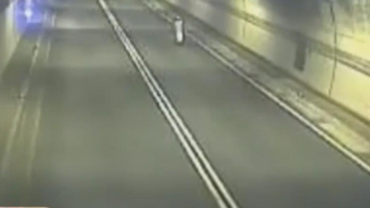 玩命!鳳鼻隧道超速111公里 駕駛遭警送辦