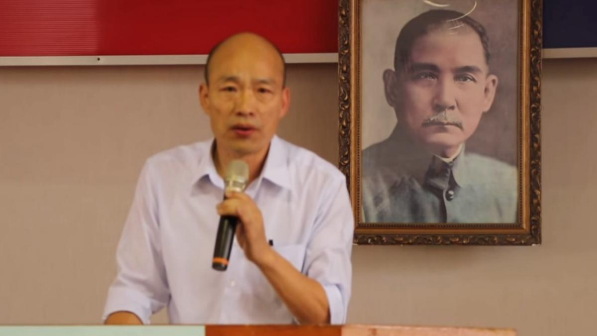 韓國瑜拚市長搞觀光 喊愛河蓋摩天輪摩鐵