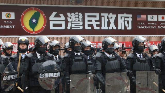 吸金3億!台灣民政府發起人衣櫃藏1.3億 急調「黑熊部隊」抗警