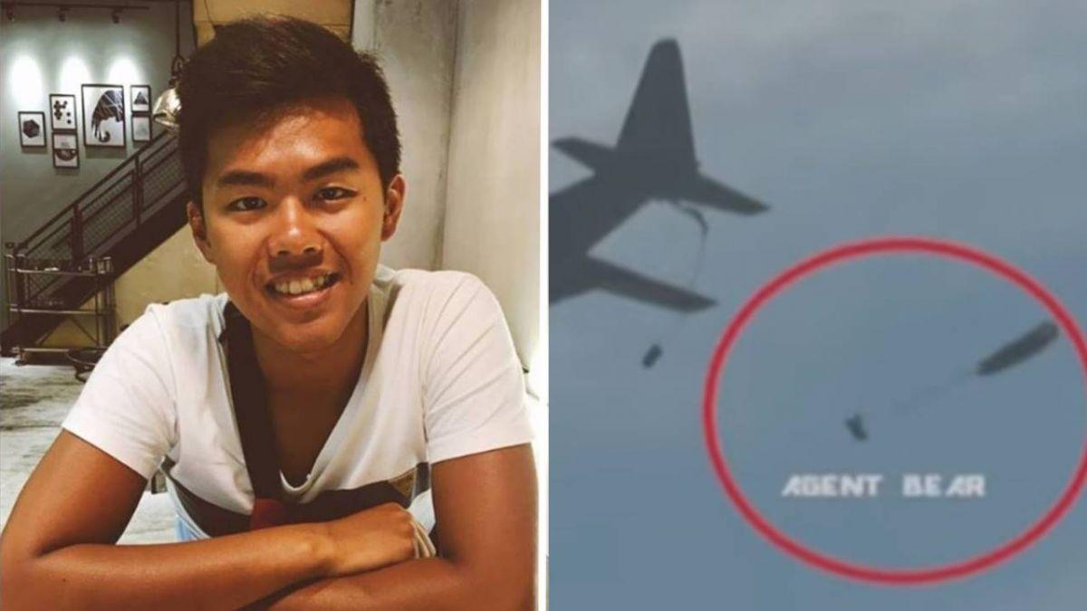 【影片】最新影片!網推測傘兵疑重心不穩「拉副傘」 軍方回應了