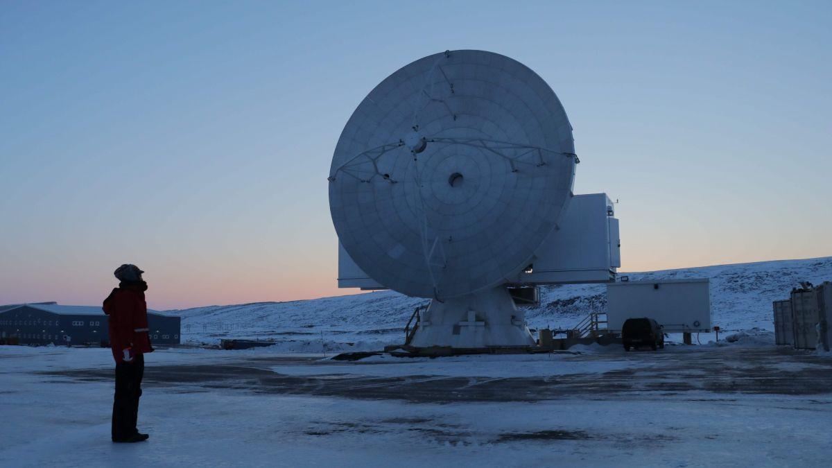 全球獨家!零下60度探索神祕美軍基地 黑洞影像將曝光!