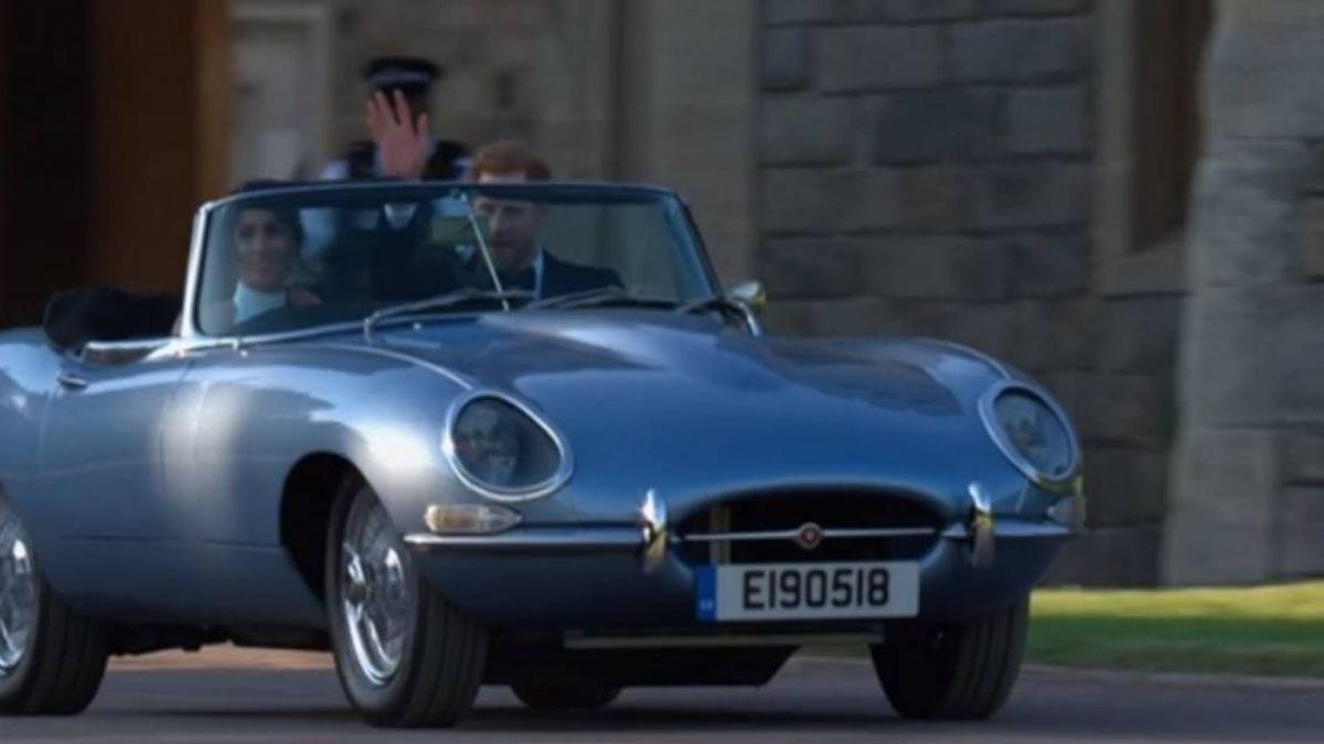 婚禮「嬌」點 哈利王子開最美「老電動車」