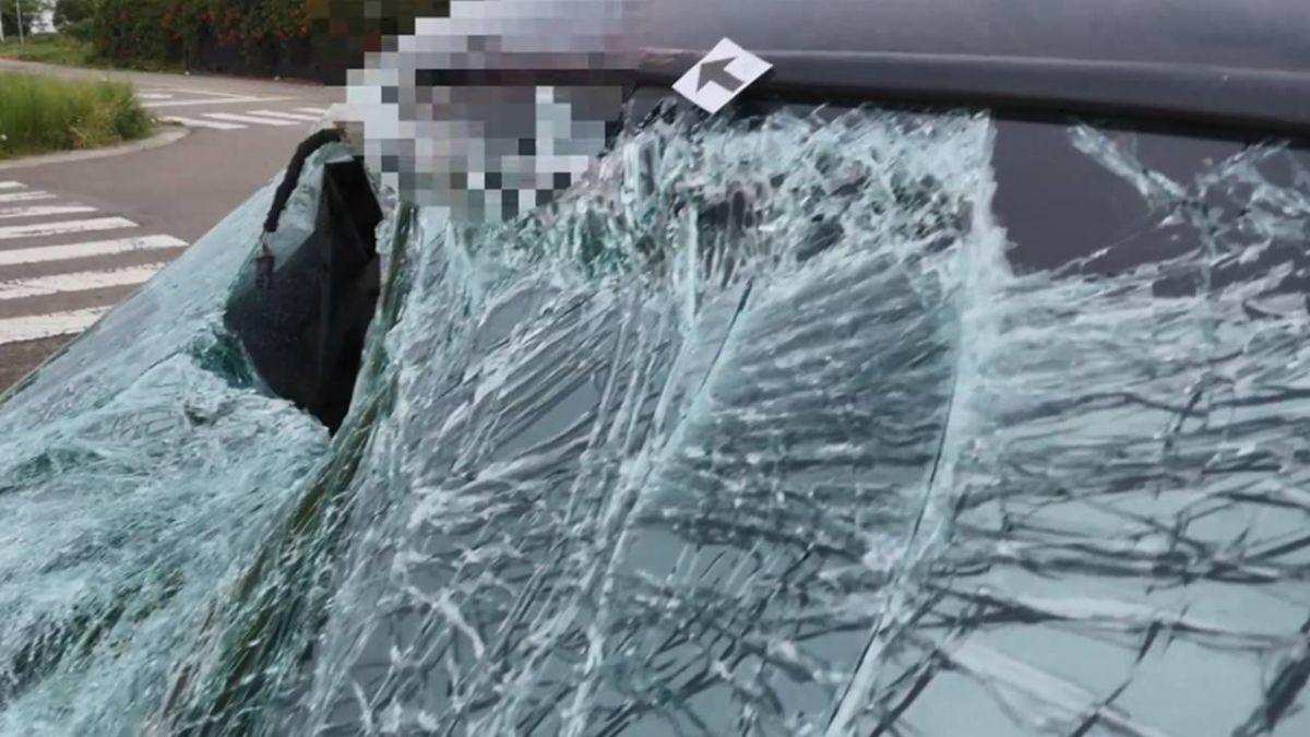 77歲老婦晨運 遭酒駕男撞擊…身卡擋風玻璃慘拖行3公里