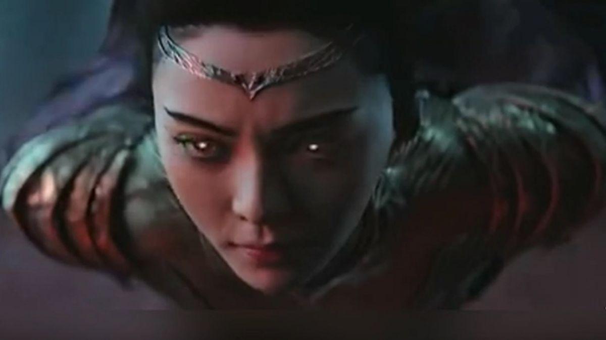 郭采潔《爵跡2》新造型曝光 網驚:像妖姬