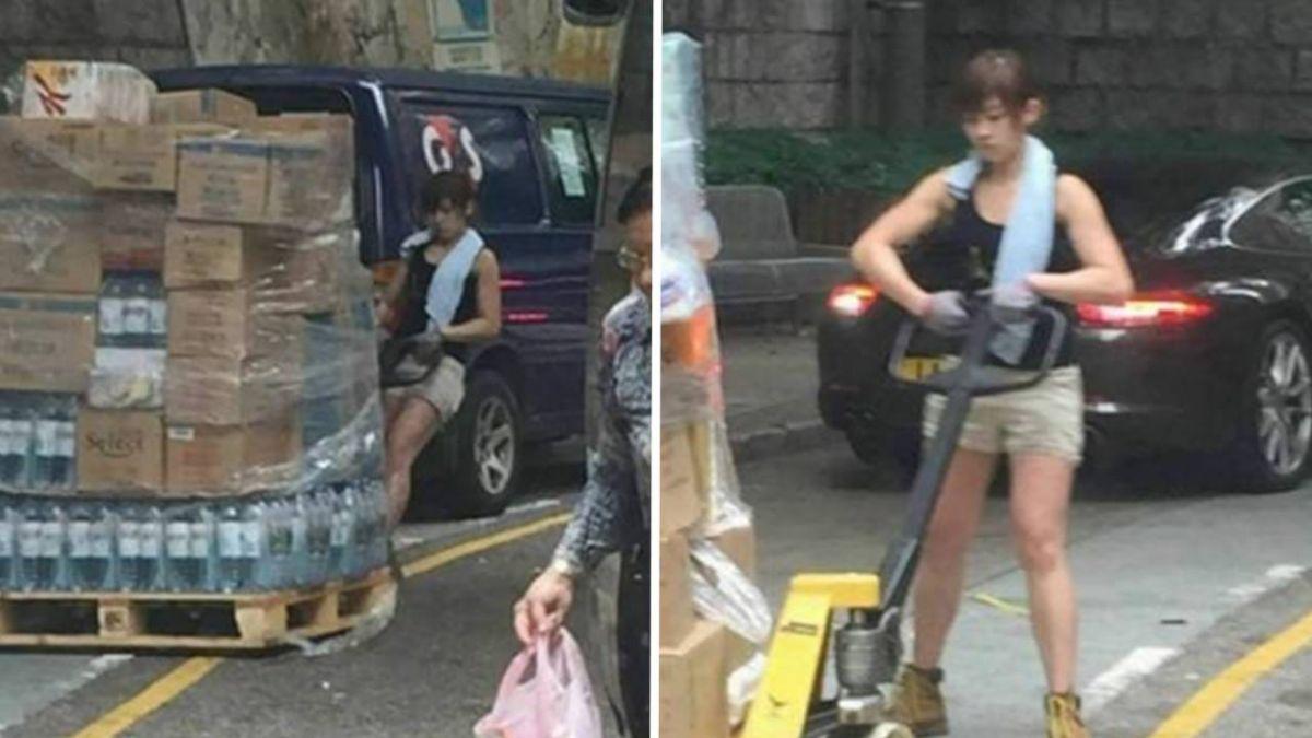 最正女搬運工 享受在男人堆工作!原因曝光