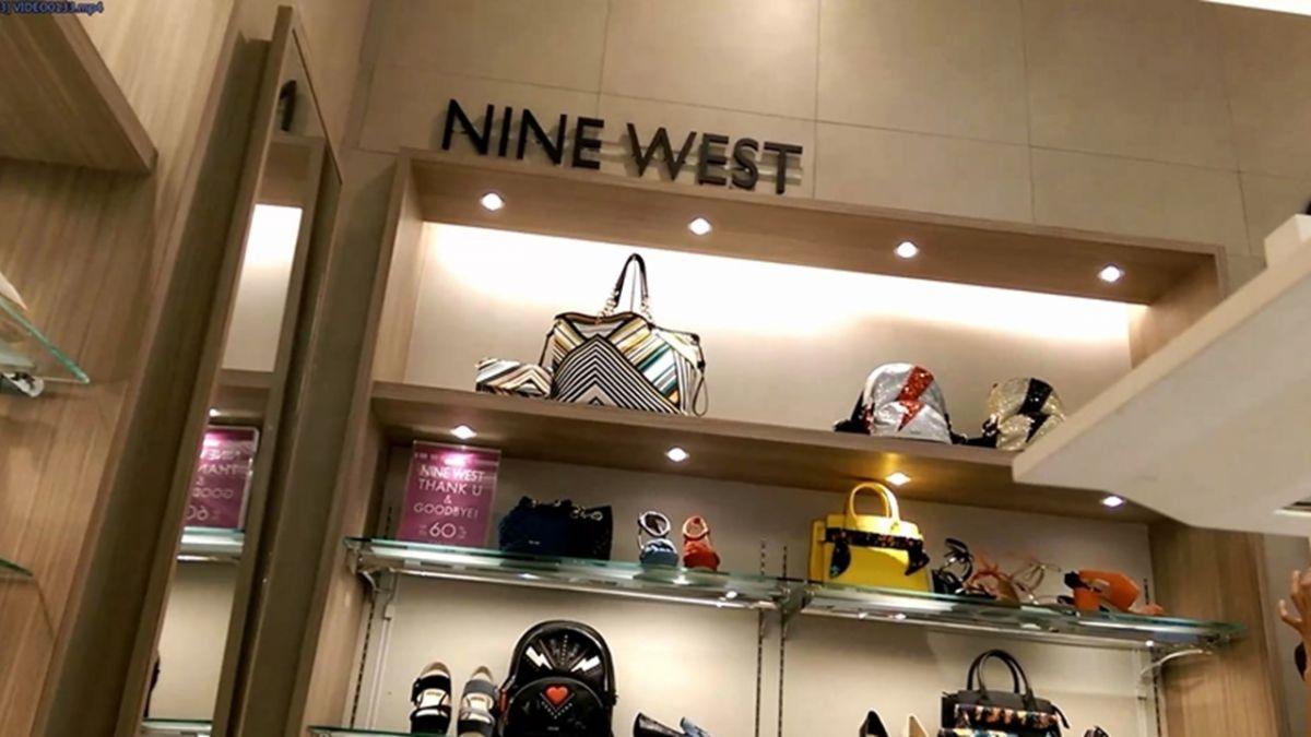 女鞋NINE WEST破產 櫃位公告GOODBYE