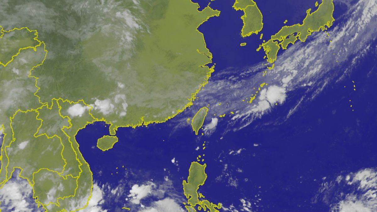 高溫降9度!鋒面報到台灣有雨 周日後恐有雙颱形成
