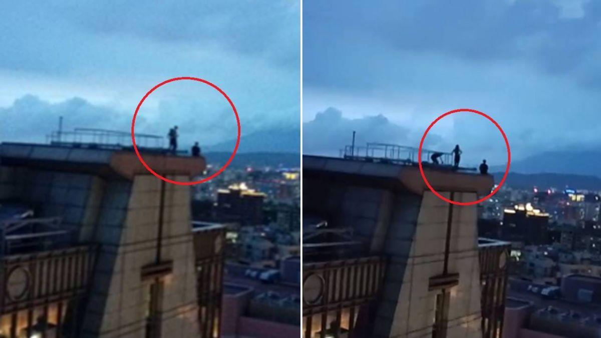 3人闖信義區16樓頂…極限自拍!網痛批:想晚一點回家?