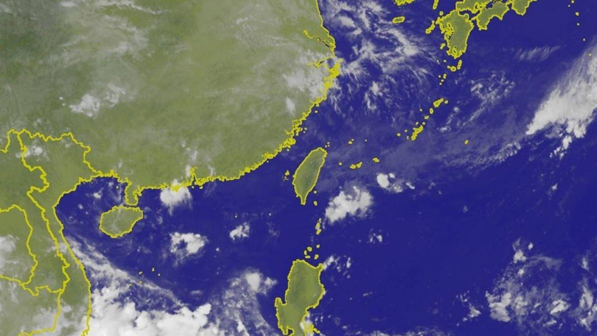 熱低壓生成!最快今晚成颱風 下周恐大雨影響台灣