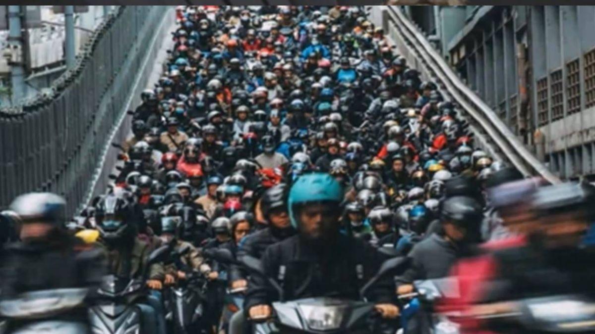紅到國外!「台北橋機車瀑布」照片 登國家地理精選作品